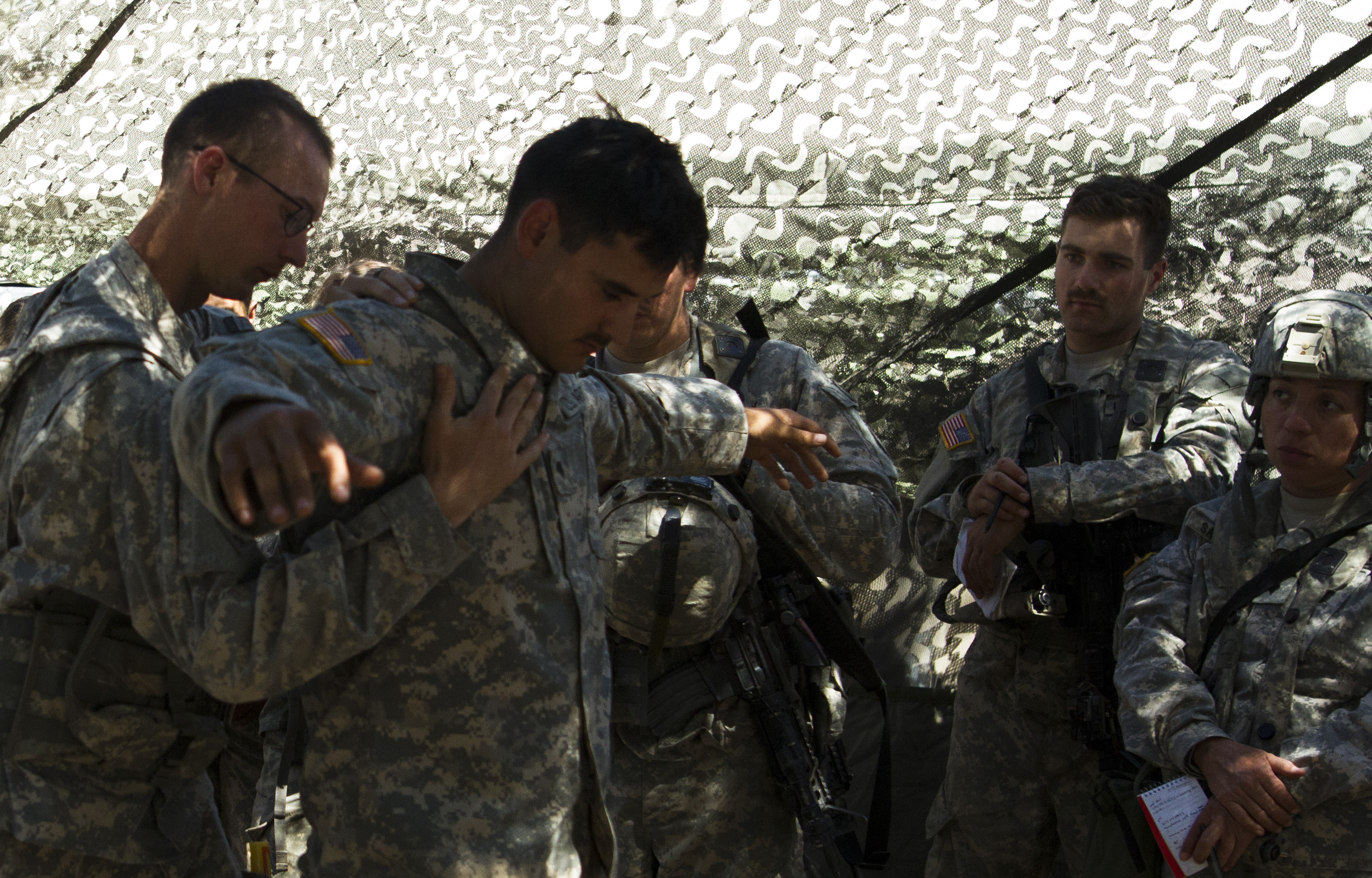 Military Police Army Reserve Soldiers Train At Fort Hunter Liggett