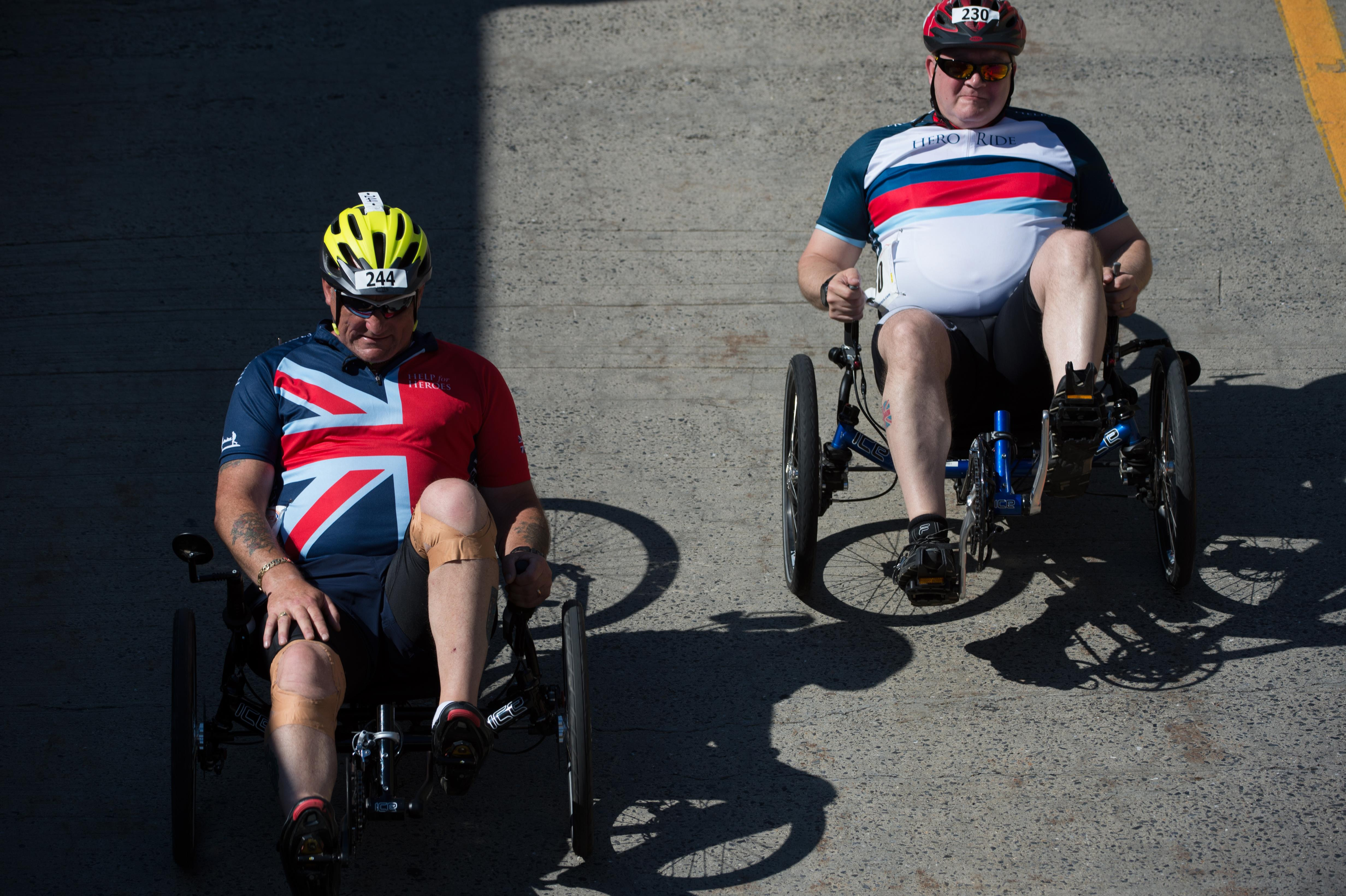 British Veteran Takes Silver Medal In Cycling At Warrior Games