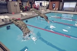 New York Airmen dive into competition for German military proficiency badge