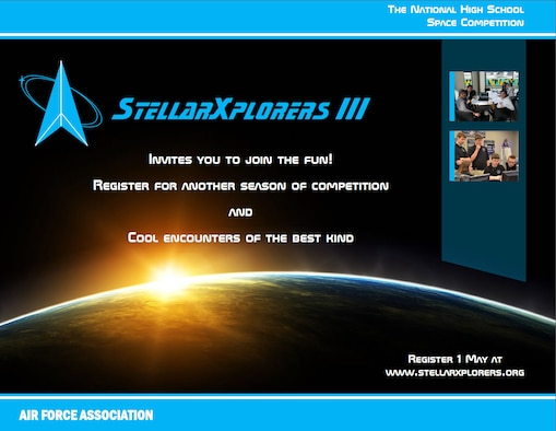 Air Force Association's StellarXplorers  graphic. (Courtesy photo illustration)