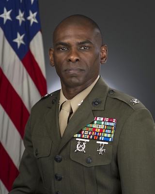 Marine Corps Col. André T. Harrell assumed command of Defense Logistics Agency Distribution San Joaquin, Calif., in a ceremony on June 22.