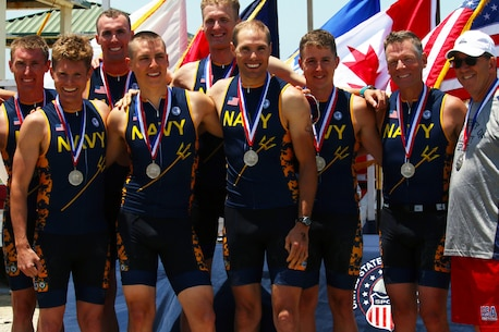 Navy captures Armed Forces Men's Team Silver.  The 2016 Armed Forces Triathlon Championship was held at Naval Base Ventura County, Calif. on 18 June.