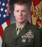 Colonel Russell C. Burton, Marine Corps Air Station New River commanding officer