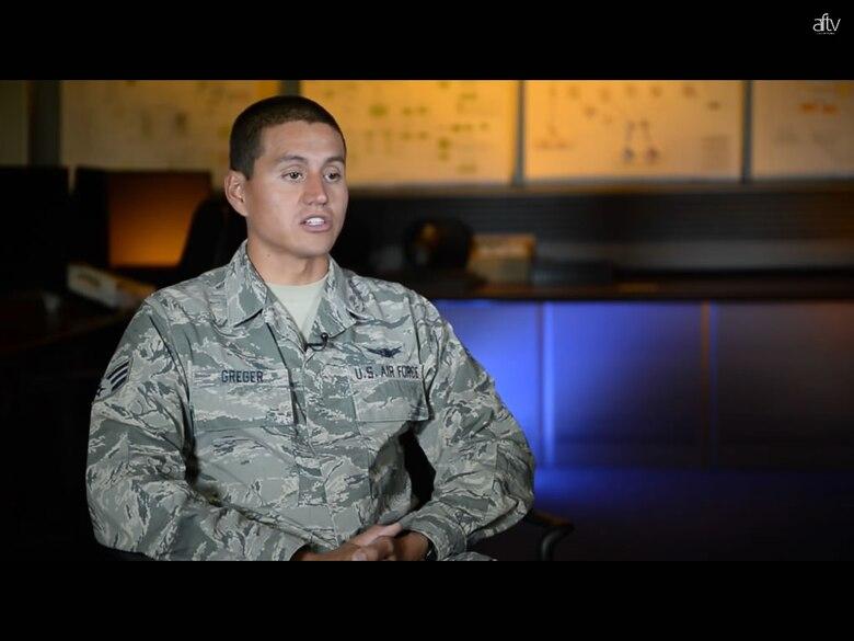 Panther of the week: Senior Airman Matthew Greger