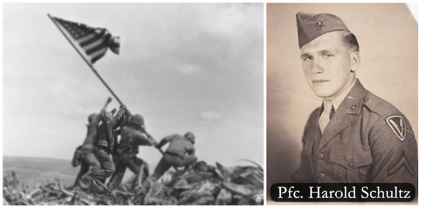 PENTAGON - The U.S. Marine Corps has concluded that a previously unknown Marine is in the iconic flag raising image taken atop Mt. Suribachi during the battle of Iwo Jima in 1945.