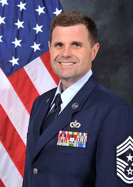 Chief Master Sgt. Chad Welch is the Command Chief, 932nd Airlift Wing, Scott Air Force Base, Illinois.