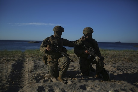 More than 6,000 troops from 17 NATO allies and partner nations came together for this year's Baltic Operations, an annual training exercise which focuses on building combined abilities to respond to threats throughout the Baltic Sea region. (U.S. Marine Corps photo by Lance Cpl. Ashley Lawson/Released)