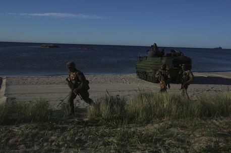 As a ship-to-shore exercise, Baltic Operations allows for NATO allies to fortify combined maritime warfighting abilities. (U.S. Marine Corps photo by Lance Cpl. Ashley Lawson/Released)