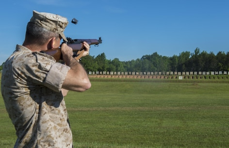 The 55th Annual Interservice Rifle Championship kicked off at 8 a.m. on June 22, at the Calvin A. Lloyd ranges aboard Marine Corps Base Quantico with a ceremony and an opening shot fired by Maj. Gen. James Lukeman, commanding general TECOM.