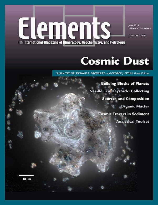 """Susan Taylor, Ph.D., research scientist at the U.S. Army Cold Regions Research and Engineering Laboratory, is serving as one of the guest editors for the June 2016 issue of Elements, An International Magazine of Mineralogy, Geochemistry, and Petrology, featuring """"Cosmic Dust."""""""