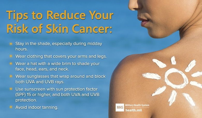 MHS Skin Cancer Prevention (MHS Graphic)