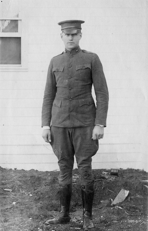 Lt. Harold E. Goettler. (U.S. Air Force photo)