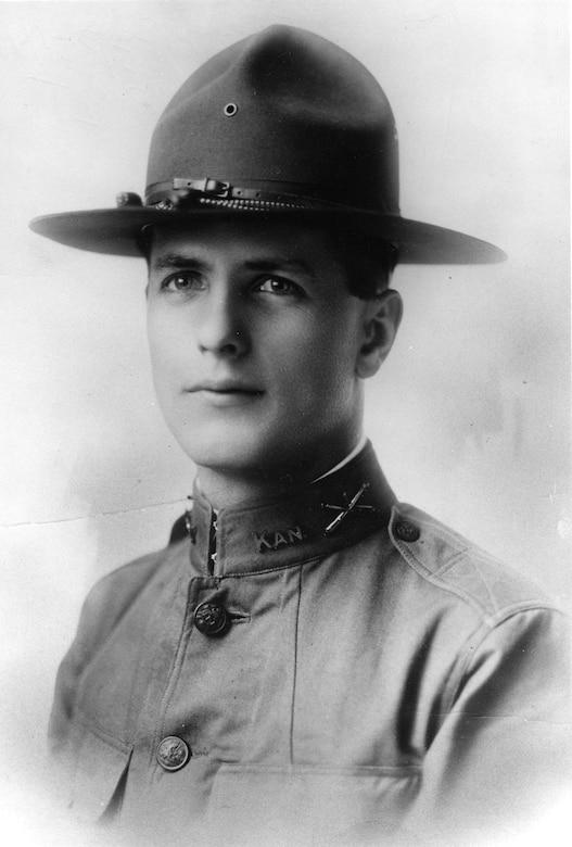 Lt. Erwin R. Bleckley. (U.S. Air Force photo)