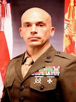 Sergeant Major Eric Darmstadt, Sergeant Major, Marine Corps Security Force Battalion Kings Bay