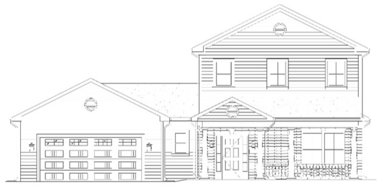 This rendering shows one of the two-story Army Family Housing projects slated to begin in 2016.