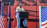 DIA Director LtGen Vincent Stewart gives opening remarks at E Pluribus Unum Week