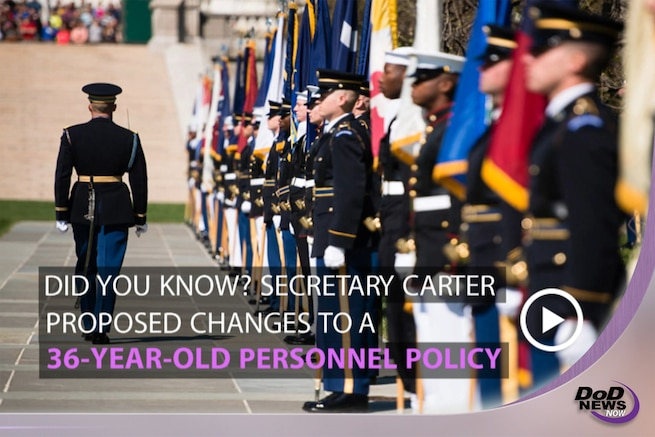 Defense Secretary Ash Carter announced the next two links to the Force of the Future, June 9, 2016. The latest proposed changes allow the services to promote, retain and recruit highly skilled officers.