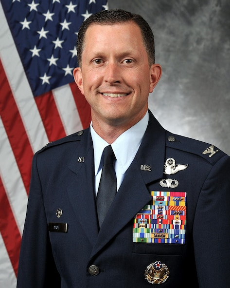 4th Fighter Wing commander as of 30 June 2016.