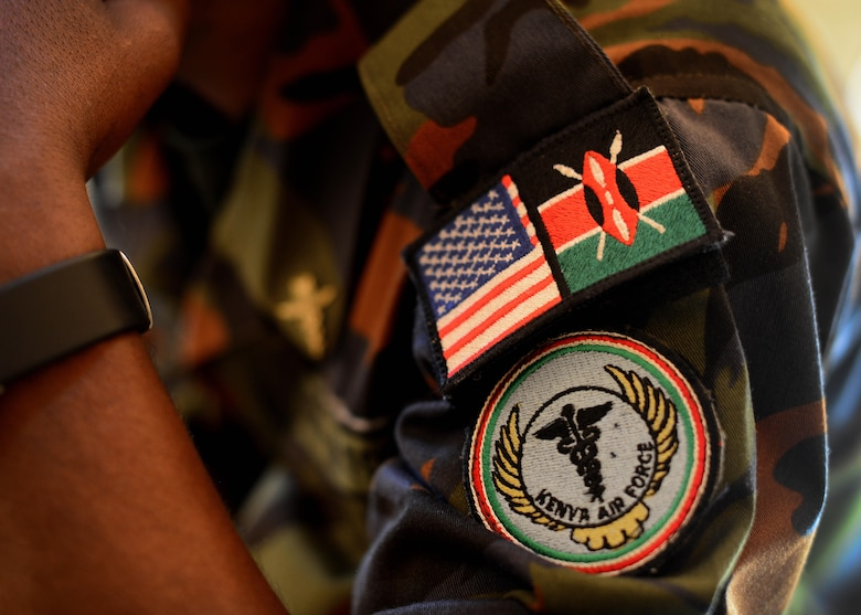 Kenyan Defense Force airmen listen to class lectures during African Partnership Flight Kenya June 20, 2016 at Laikipia Air Base, Kenya. More than 50 U.S. Air Force Airmen participated in the first APF in Kenya. The APF is designed for U.S. and African partner nations to work together in a learning environment to help build expertise and professional knowledge and skills. (U.S. Air Force photo by Tech. Sgt. Evelyn Chavez/Released)