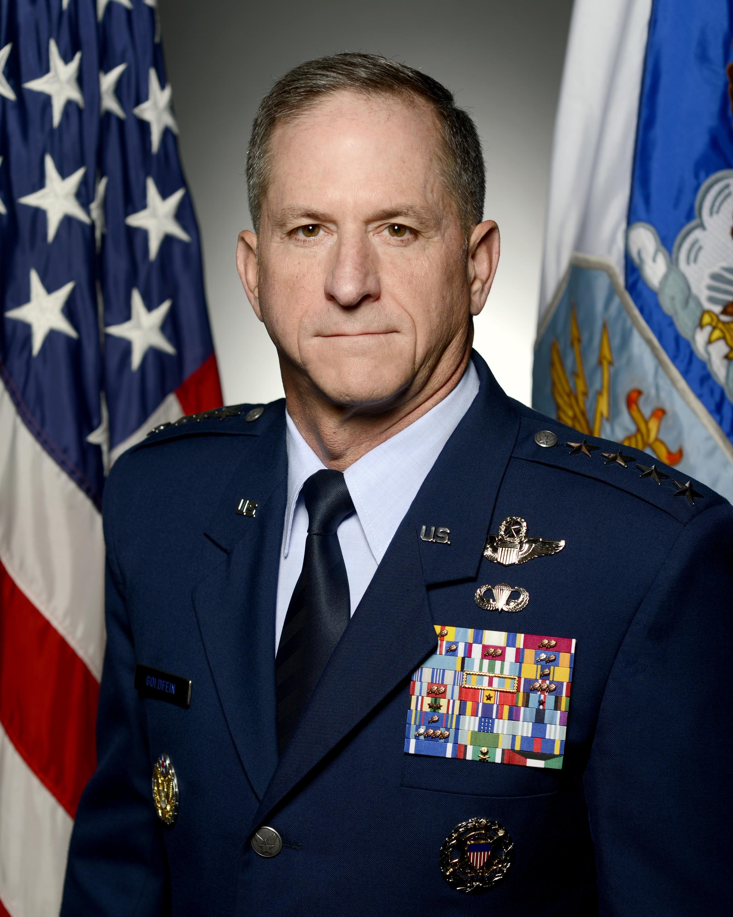 David L Goldfein is Chief of Staff