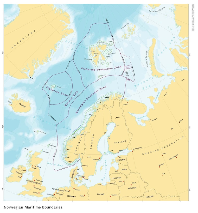 Norwegian Maritime Boundaries
