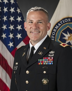 Fort Meade, Maryland - Portrait of Col. Martin Downie, Commandant, at the Defense Information School, Fort George G. Meade, Md., June 2, 2015. (DoD photo/Released)