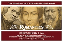 """ROMANTICS: Sunday, March 6 at 2 p.m. EST, NOVA, Alexandria, Va. The musical and personal lives of Romantic composers Robert and Clara Schumann and their contemporary Johannes Brahms were inextricably intertwined. At their very first meeting, Robert invited the relatively unknown twenty-year-old Brahms to his piano and was so taken that he ran to get his wife, Clara, to hear what he described as """"genius."""" That night Clara took to her diary, writing, """"Here is one who comes as if sent from God."""" Thereafter, Robert served as Brahms' mentor, dear friend, and unabashed supporter, even calling him """"the next Beethoven."""" Following Robert Schumann's tragic suicide attempt and committal to an asylum several months later, Brahms vowed to stay with Clara until Robert's recovery. In the intervening two and a half years until Robert's death at age 46, Brahms realized he had found his """"one great love"""" in Clara. The two never married, Brahms instead choosing to live by the motto """"Frei Aber Einsam"""" [Lonely but Free]. Their unconsummated relationship continued for 40 years until Clara's death in 1896. Stricken with grief, Brahms was physically unable to attend her funeral procession. After her burial, Brahms took ill and followed Clara to the grave less than 11 months later. The three composers' mutual love and influence lives on in their music. The concert is free, no tickets are required. Free parking is available."""
