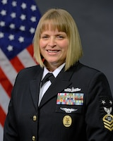Official photo of DMA Senior Enlisted Advisor, MCPO Melissa Weatherspoon