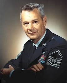 Photograph of 1st CMSAF Paul W. Airey, Apr 1967 - Jul 1969