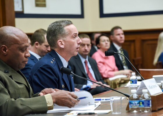 Maj. Gen. James Marrs, DIA Director for Intelligence, Joint Staff, testifies before the HASC World Wide Threats Hearing.