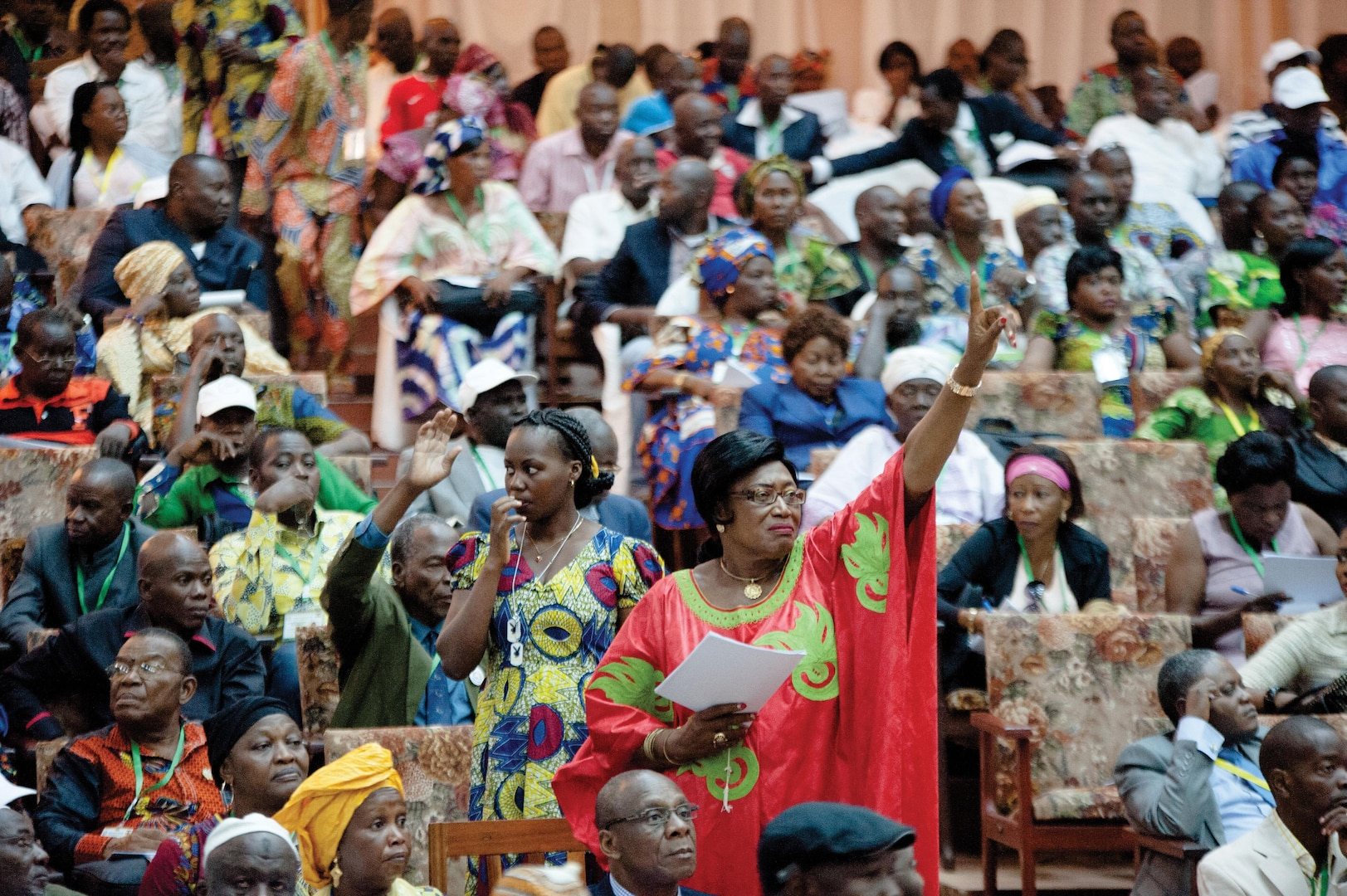The Bangui National Forum took place in the capital of the Central African Republic in May, 2015, and concluded with the adoption of the Republican Pact for Peace, National Reconciliation, and Reconstruction.