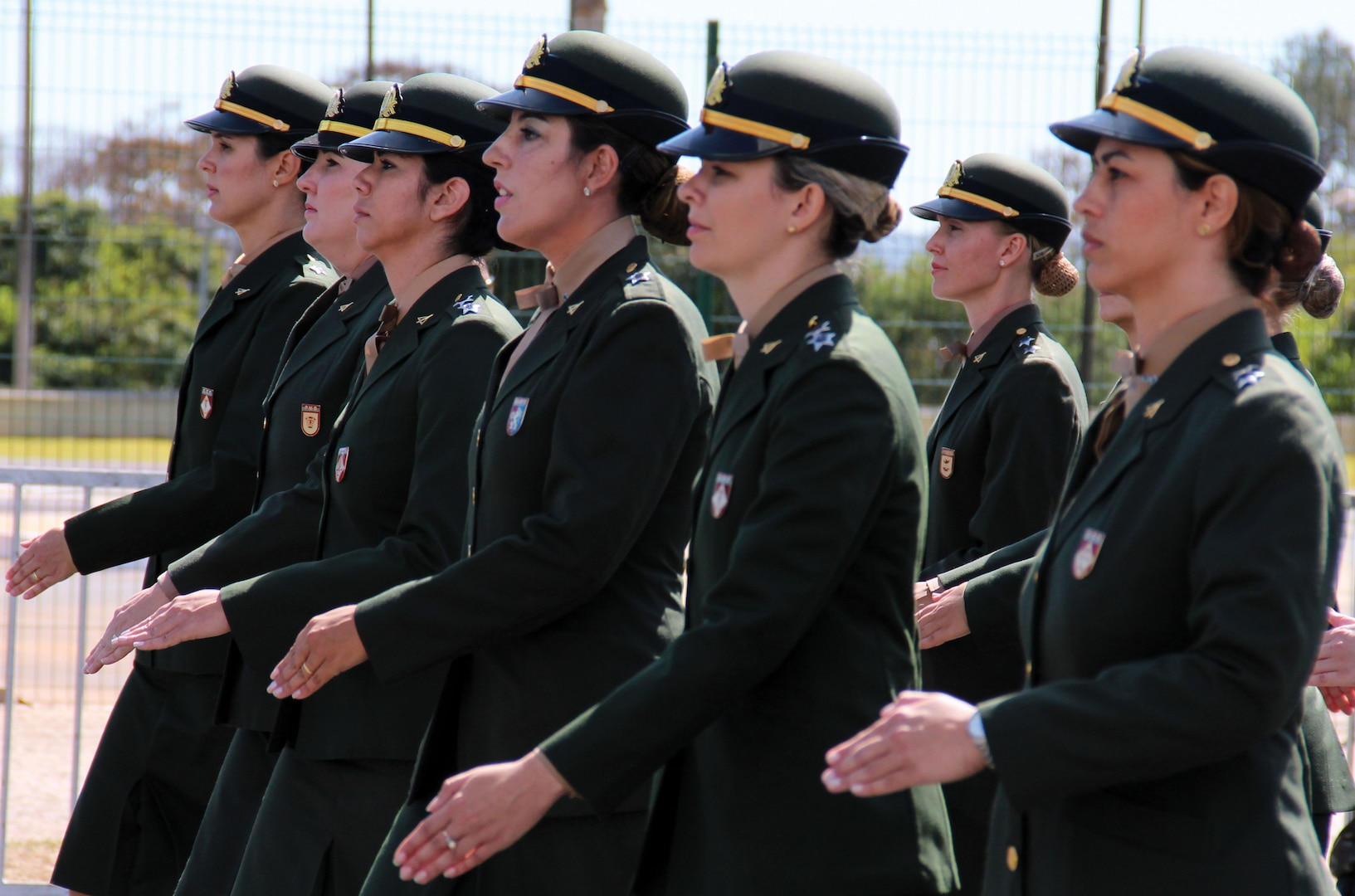 The Brazilian Army was the first army in South America to accept women into its ranks.