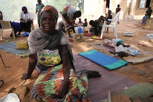 Women and children comprise the majority of those living in internally displaced persons (IDP) camps in Nigeria.