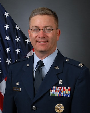 Col. Hans Ritschard, 90th Medical Group Commander