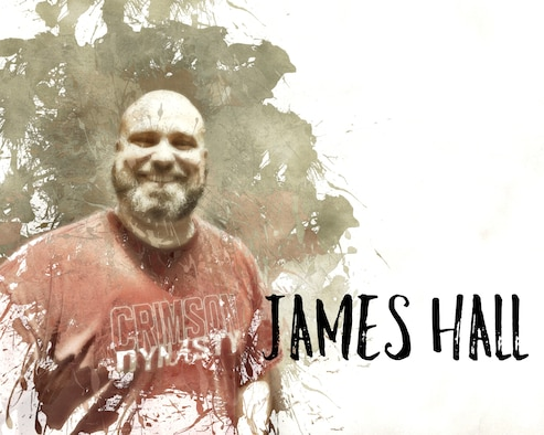 Get to know James Hall (U.S. Air Force photo illustration by Claude Lazzara)