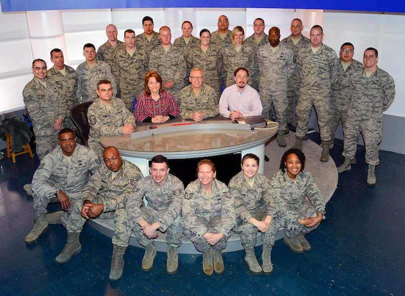 MCGHEE TYSON AIR NATIONAL GUARD BASE, Tenn. - Instructor Certification Program class 16-3 gathers here, March 4, 2016, at the I.G. Brown Training and Education Center. (U.S. Air National Guard photo by Master Sgt. Jerry D. Harlan/Released)