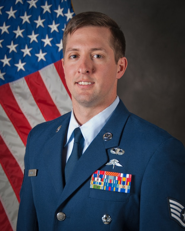 Staff Sgt. Nicholas Jewell of the 123rd Special Tactics Squadron has been selected as the Kentucky Air National Guard's 2015 Non-Commissioned Officer of the Year. (U.S. Air National Guard Photo by Master Sgt. Phil Speck)