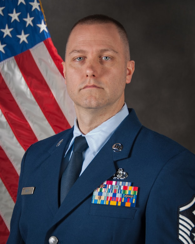 Master Sgt. Alan Smith of the 123rd Civil Engineer Squadron has been selected as the Kentucky Air National Guard's 2015 First Sergeant of the Year. (U.S. Air National Guard Photo by Master Sgt. Phil Speck)
