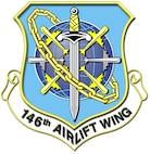 146th Airlift Wing Shield