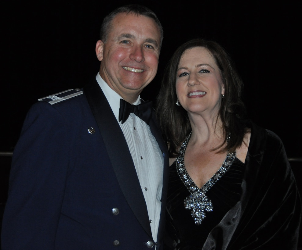 Col. John Breazeale, 301st Fighter Wing commander, and Mrs. Karen Breazeale are the Air Force Reserve Command's nominees for the 2016 General and Mrs. Jerome F. O'Malley Award. The award will recognize the wing commander and spouse team whose contributions to the nation, the Air Force, and the local community best exemplify the highest ideals and positive leadership of a military couple serving in a key Air Force position. (U.S. Air photo by Tech. Sgt. Jeremy Roman)
