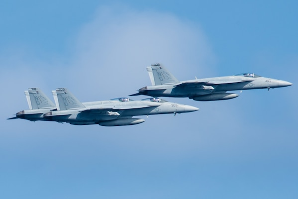 Stennis Strike Group Wraps Up Routine Operations in the ...