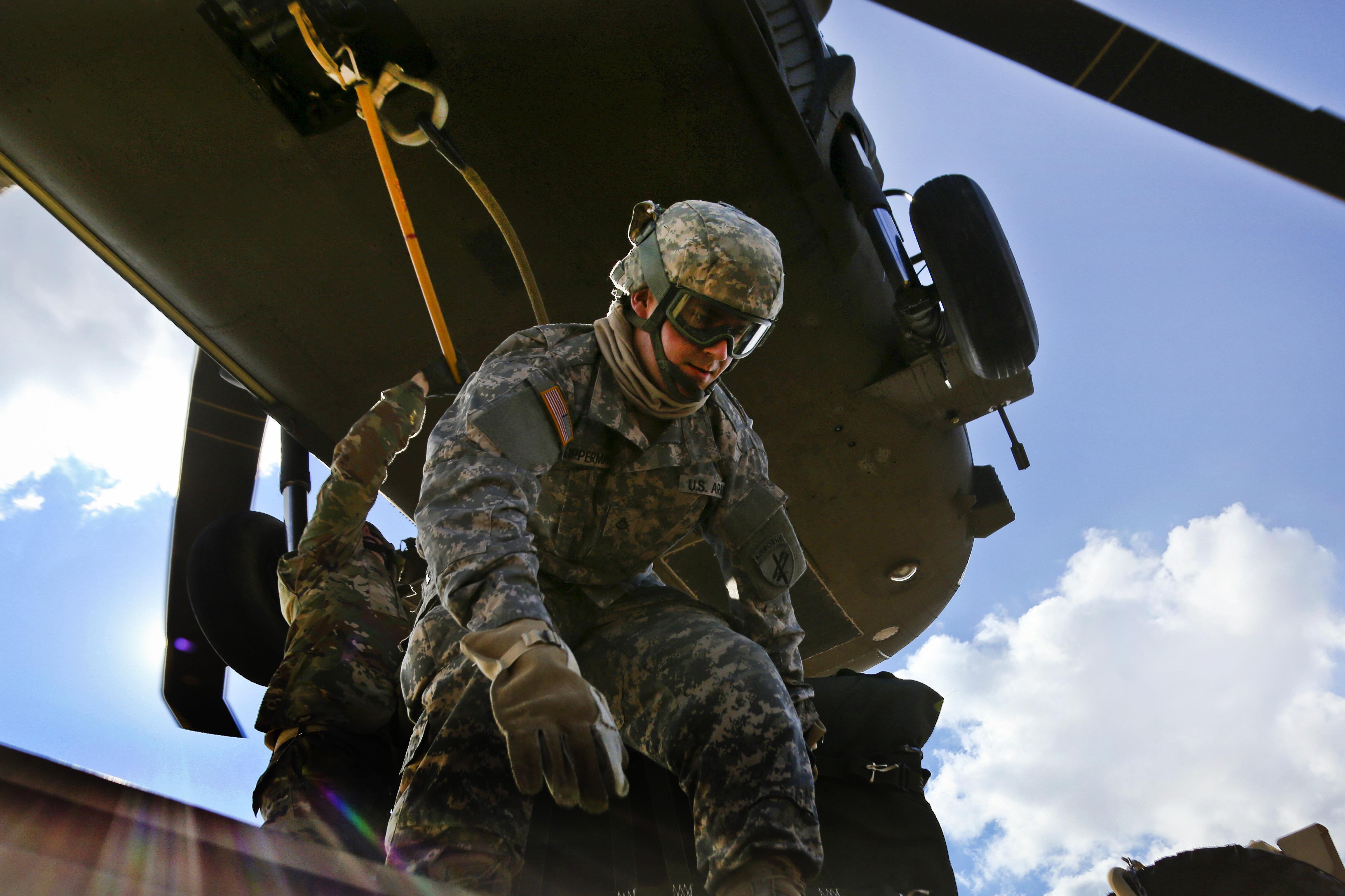 Soldier hookup