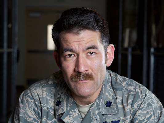 Alaska Air National Guard Lt. Col. Matthew Komatsu, commander of the 212th Rescue Squadron, wrote about his experiences during a Sept. 14, 2012, Taliban attack of Camp Bastion. The story was published by the New York Times. Alaska Army National Guard photo by Sgt. David Bedard