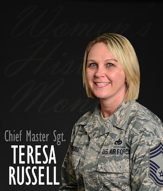 From a young age, U.S. Air Force Chief Master Sgt. Teresa Russell, the vehicle management functional manager at Air Combat Command, has had a passion for vehicle mechanics. After facing several challenges as the only woman assigned to various maintenance shops throughout her career, nearly 23 years later Russell is at the top of her profession and only the second woman to hold such position. (U.S. Air Force photo illustration by Staff Sgt. Aubrey White)
