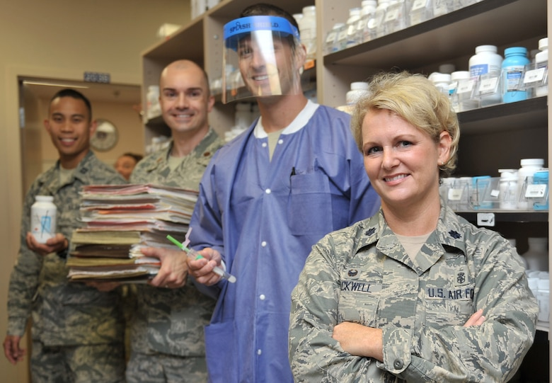 Lt. Col. Angel Blackwell is the commander of the 1st Special Operations Medical Support Squadron, Hurlburt Field, Fla. (Courtesy Photo)