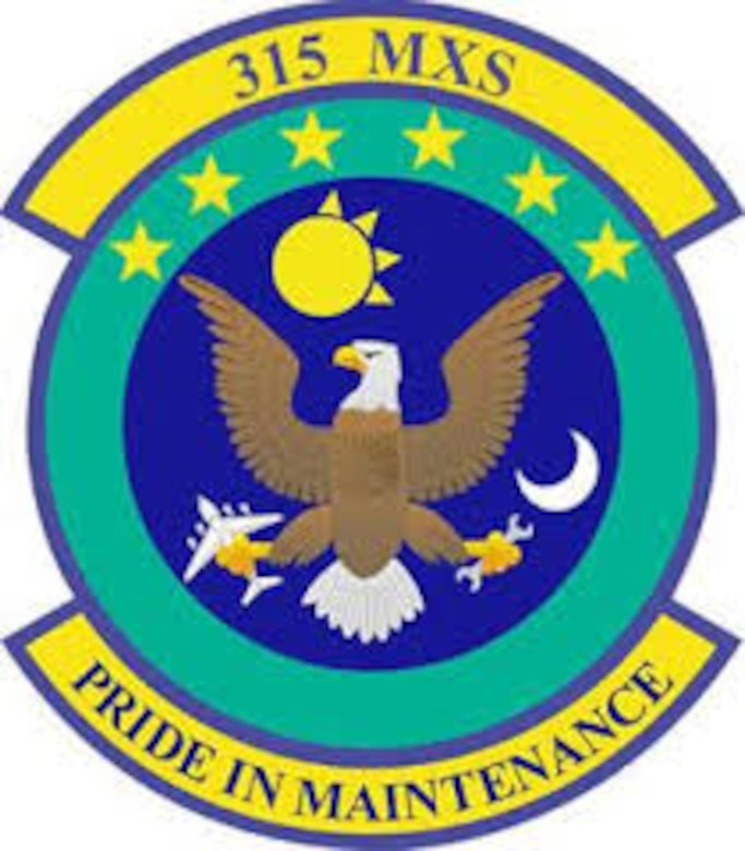 315th Maintenance Squadron patch. (U.S. Air Force Graphic)