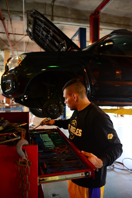 Auto hobby shop empowers community for do it yourself repairs airman 1st class chris avila 36th logistics readiness squadron fuels distribution operator returns a solutioingenieria Image collections