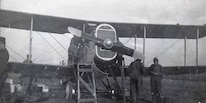 c. 1918. Early aviation, especially aerial combat, required exceptional bravery and fortitude. Marine Corps Pilots, with Regular and Reserve Commissions, helped in guiding early naval aviation development.