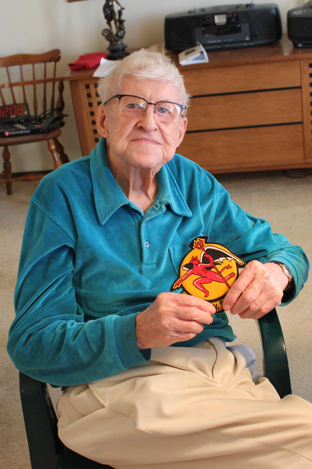 102-year-old veteran recalls duty with Michigan National Guard