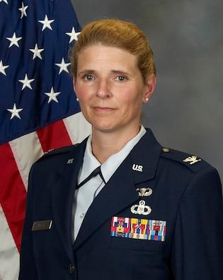 Colonel Paige Abbott, 225th Support Squadron commander